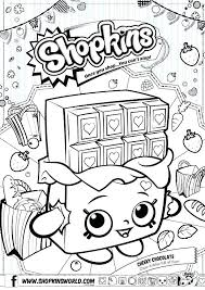 Shopkins Coloring Pages Pdf Coloring Pages Free Coloring Pages