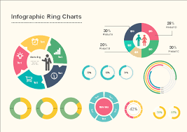 Infographic Chart Free Infographic Ring Charts Template