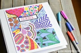 Coloring Page Binder Cover Coloring Page Binder Cover Printable Balancing Home
