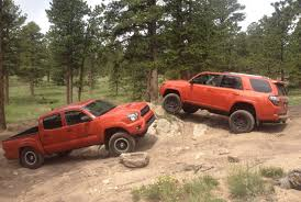 The 2015 Toyota Tacoma TRD Pro vs 4Runner TRD Pro Off-Road Review ...
