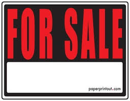 sale signs printable for sale signs free printable for sale sign templates intended for