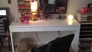 new vanity table micke ikea desk