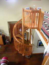Craftsman Staircase custom craftsman style spiral stair by master woodworks inc 1657 by xevi.us