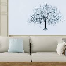 black tree wall art metal