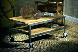 rustic coffee table plans round wood