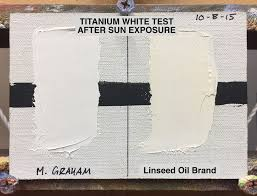 Color Stability Walnut Oil Vs Linseed Oil Danschultzfineart