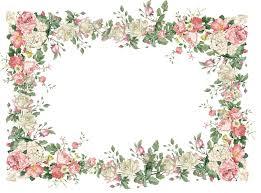 vintage frame design png. Vintage Pink | Free Flower Frame Png: White And Roses AND Rose . Design Png R