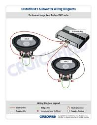 4 ohm wiring audiobahn 4 automotive wiring diagrams 2 channel 2 2ohm dvc