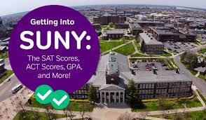 How To Get Into Suny Sat And Act Scores Gpa And More