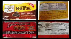 nestle dark chocolate morsels all natural
