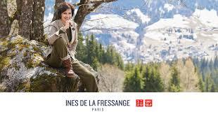 Ines De La Fressange <b>Autumn Winter</b> 2019 Collection | UNIQLO ...