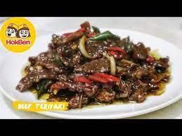 Iduladha menjadi momen berkumpul bersama keluarga dengan menikmati menu masakan berbahan daging. Resep Beef Teriyaki Ala Hokben Masakan Daging Sapi Terenak Youtube