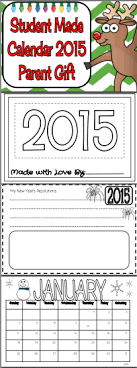 Student Made Calendar 2018 (Parent Gift) | Christmas gifts ...