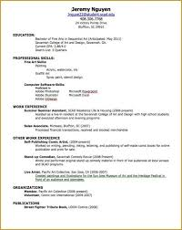 Resume How To Make Resume Example Sample Create My Template Good