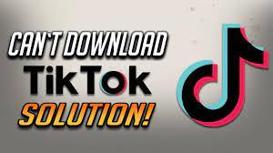 How To Fix Can't Download TikTok Error ...