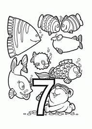 Small Picture Number coloring pages for kids big collection coloring pages of