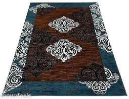 5x7 blue rug navy white rug mesmerizing blue and brown area rugs carpet new damask 5x7