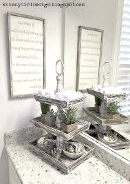 Small Bathroom Counter Decorating Ideas Unique Accessories Add Style