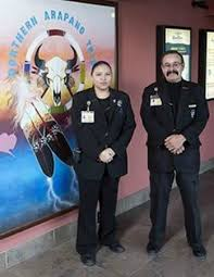 Casino Security Security Staff At The Entrance To Wind River Casino Picture Of