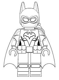 Lego Batman Coloring Pages Fresh Outline Dc Comics Super Heroes 478