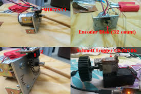 arduino pid motor controller let s make robots robotshop i used 2 moc7811 and a position encoder disk which has 32 sections