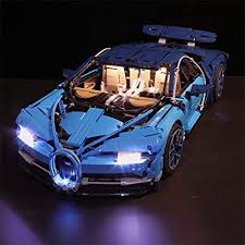 The bugatti model car measures over 5 inches (14cm) high, 22 inches (56cm) long and 9 inches (25cm) wide. Amazon Com Vonado Led Light Set For 42083 Building Blocks Building Brick Model Light Kit For Gifts Compatible For 20086 Bugatti Chiron Race Car Toys Lights Only Toys Games