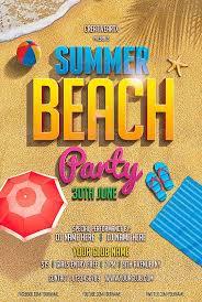 Beach Flyer Dj Flyer Beach Ohye Mcpgroup Co