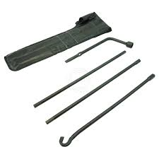 Spare Tire Lug Wrench Extension Jack Tool Kit Set for 05-13 Toyota ...