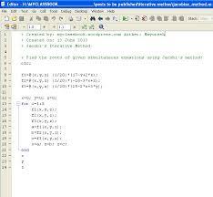 matlab code for jacobi s iterative method