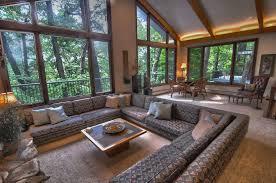 image of sunken living room safety