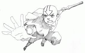 Small Picture Avatar For Avatar The Last Airbender Coloring Pages creativemoveme