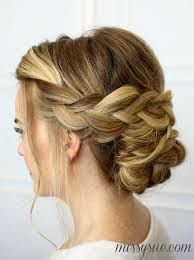 Braided Updo Hairstyles 8 Inspiration Soft Braided Updo
