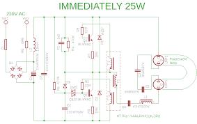 compact fluorescent lamp 2 pin cfl wiring diagram schematics immediately 25w