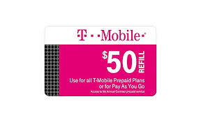 Tmobile Custumer Service T Mobile 50 Prepaid Refill Card Monthly Plan Pay As You Go No Annual Contract Mail Delivery