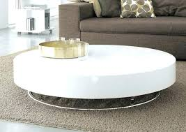 small white round coffee table decoration impressive round modern coffee table