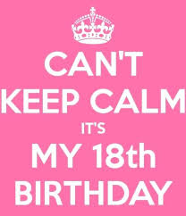 18th Birthday Quotes Unique 48 Birthday Quotes Dreaded Birthday Quotes New Keep Calm And