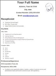 How To Do Resume For Job 15 Receptionist Position Resume Sample Will Give  Ideas And Strategies Develop Your Own Resume.