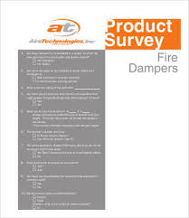Printable Survey Template Printable Survey Template 25 Free Word Pdf Documents Download