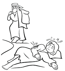 The Good Samaritan Coloring Page With The Good Coloring Pages Free