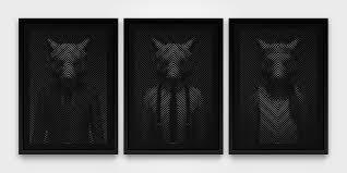 Wolf of Wall St - Triptych | Tim Christie | Castle Fine Art