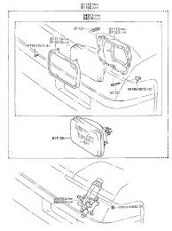 the mr2oc online parts catalog antenna · cruise control · door motor solenoid