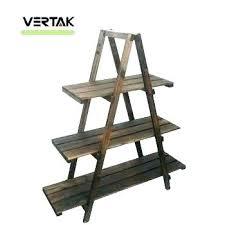 three tier stand wood three tier stands three tier wooden stand wooden plant shelf 3 tier