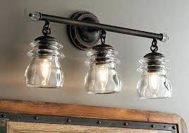 industrial chic lighting. Industrial Chic Bathroom Lighting Elegant Vanity  Fashionable Idea