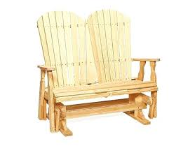 outdoor glider bench marvellous inspiration ideas pine wood furniture fan back from durability quality costco