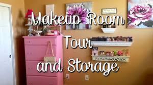 makeup room tour 2016