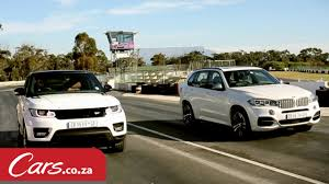 Coupe Series bmw x5 vs range rover sport : Drag race: BMW X5 M50d versus Range Rover Sport Supercharged V8 ...