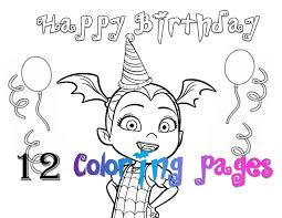 Coloring Page Vampirina Coloring Pages For Your Little One Disney