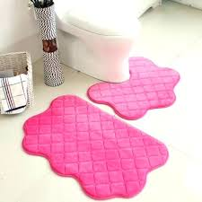 bathroom rug set pink bath rug photo 3 of 3 set pink color new soft bath