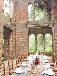 dinner in the barnsley gardens ruins okay alicia this is so pretty and rustic not country but classy