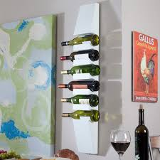 Milano Wall Wine Rack   White $32.01